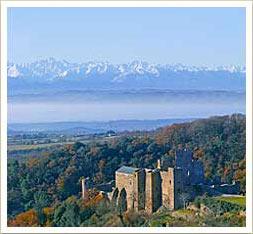 le Château de Saissac s'affiche