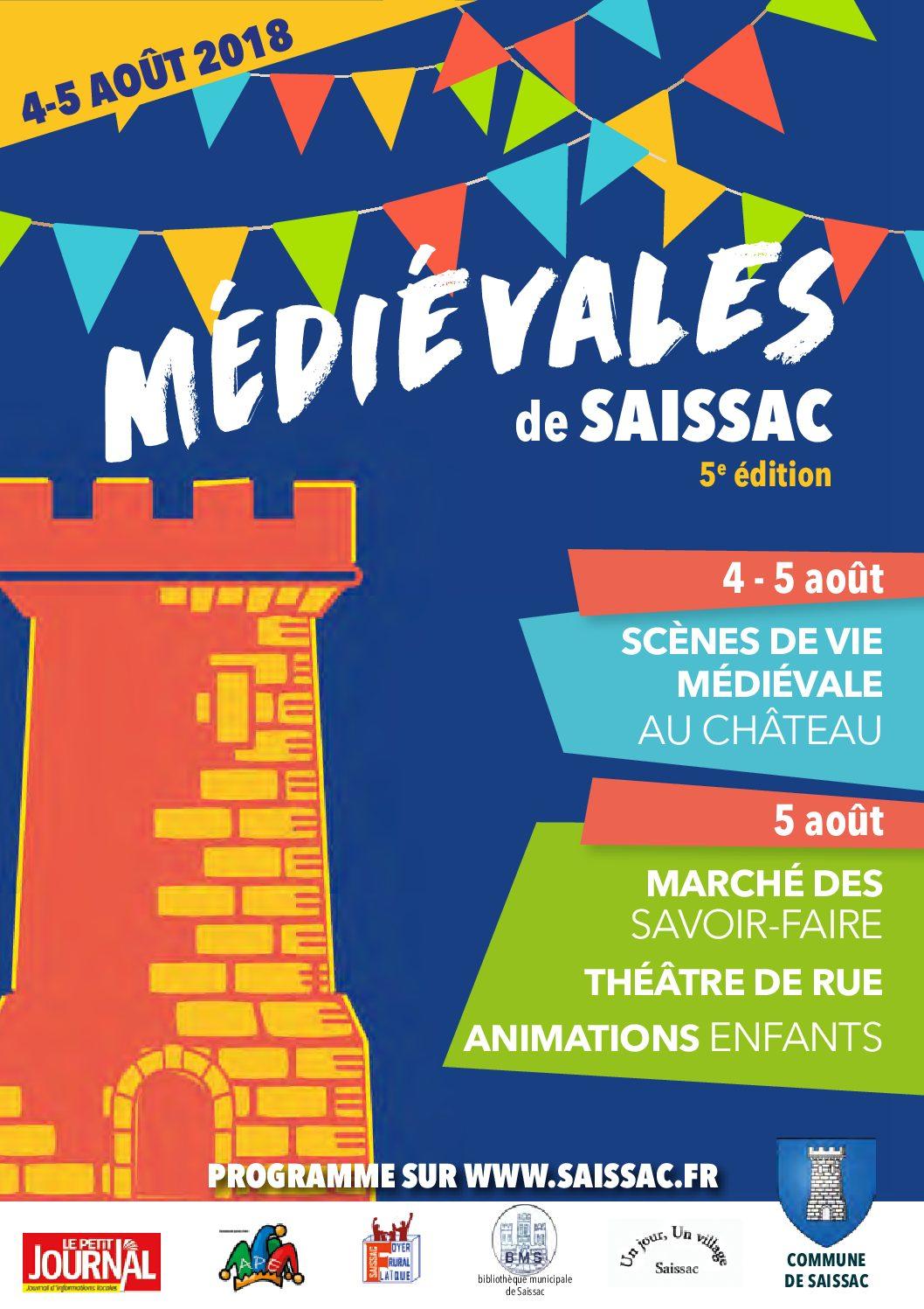 5ème édition «Médiévales de Saissac»