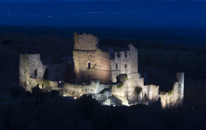 Inauguration de l'illumination du château